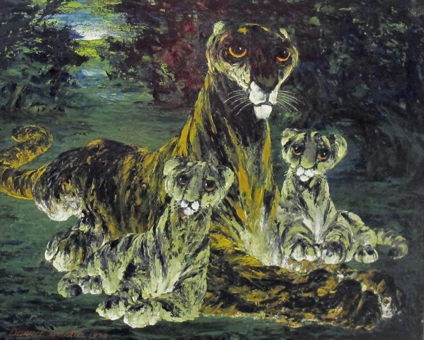Explore the Art: Beasts at Dawn